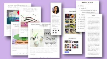 Custom blog design services