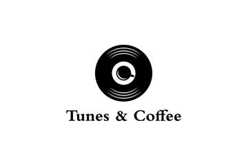 Tunes & Coffe logo design services