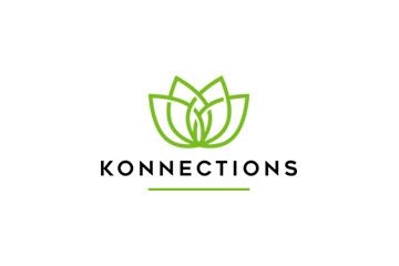 Konnections logo design services