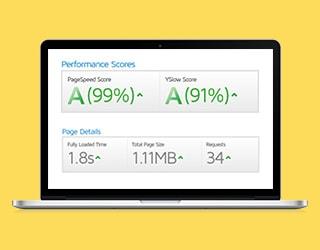 Desktop Website Loading Speed Test