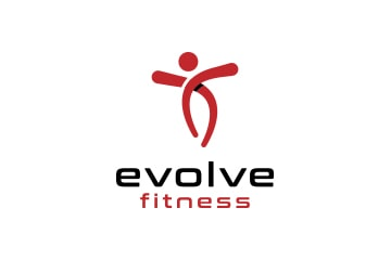 Evolve fitness- - Logo design - Web design agency