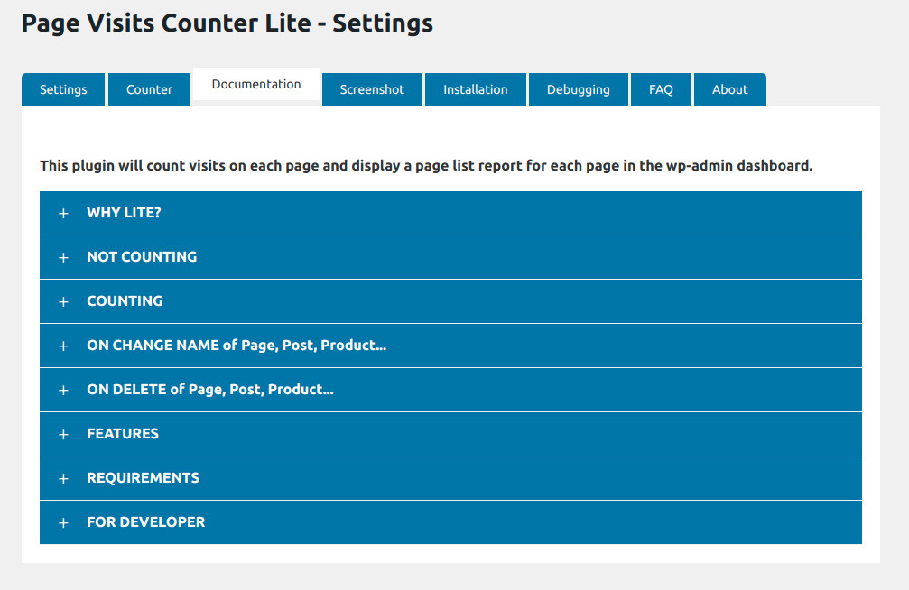 strongetic-page-visits-counter-lite-settings